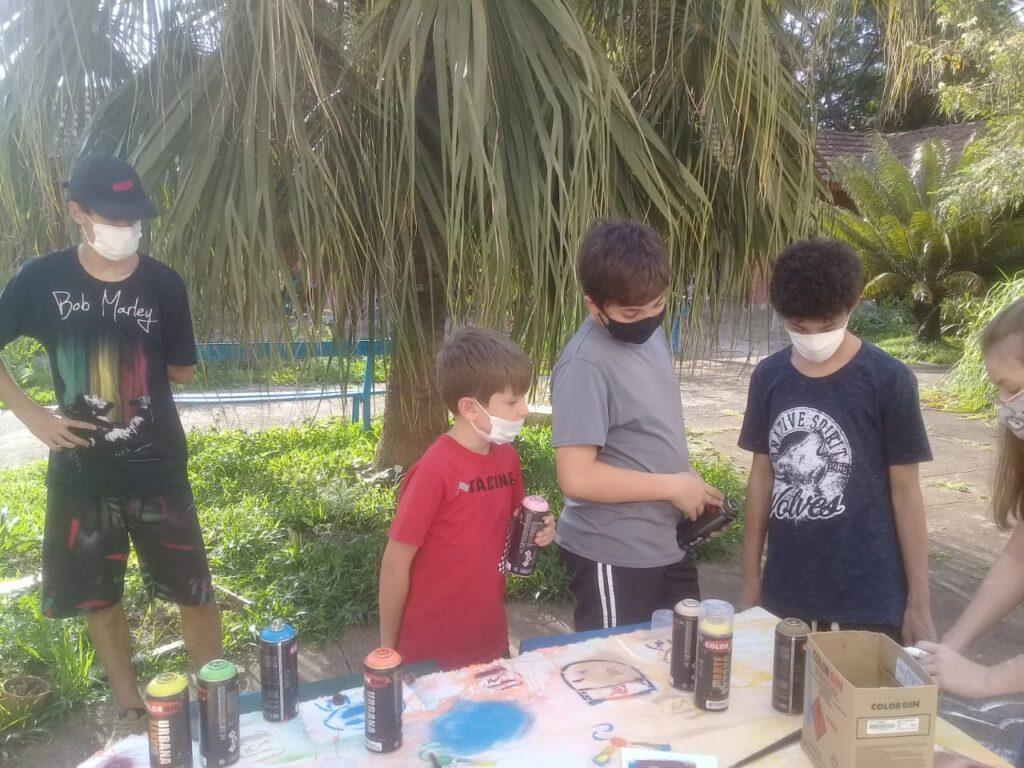 atividade infanto-juvenil em centro de covivencia em campinas